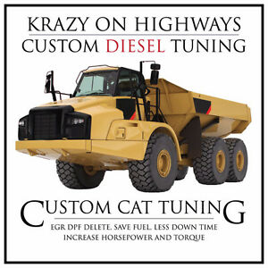 CAT Articulated Rock Trucks EGR & DPF Removal & MORE!