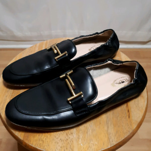Tod's Leather T-Bar Loafers Size 39