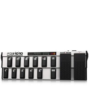 BEHRINGER FCB1010 MIDI Foot Controller 2 Expression Pedals MIDI + Full Warranty