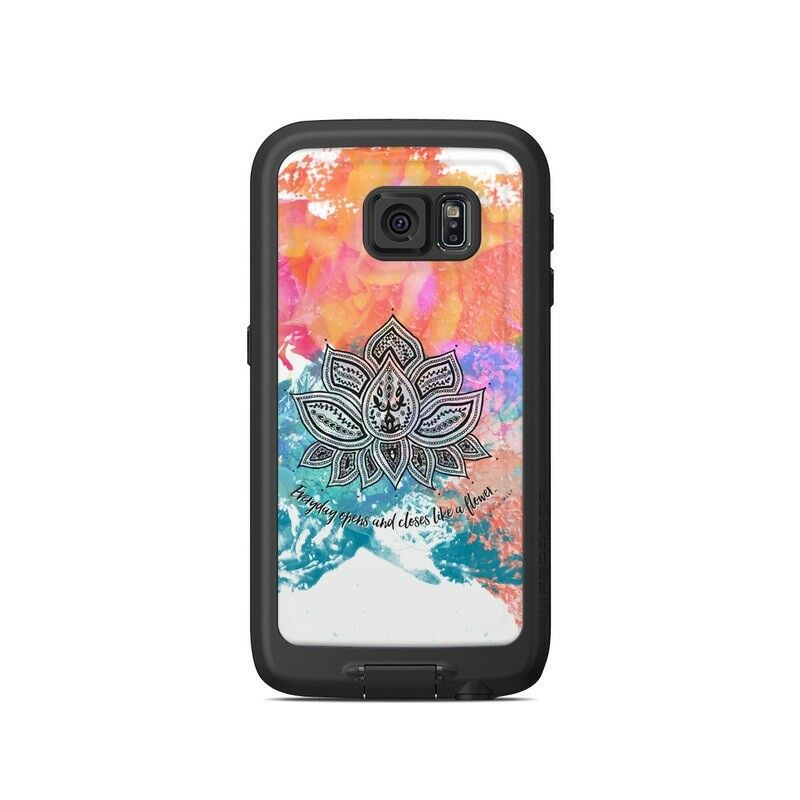 Skin for LifeProof Galaxy S6 FRE Case - Happy Lotus - Sticker Decal
