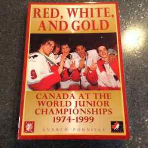 Red White and Gold Canada at the world Junior Olympics 1974-1999