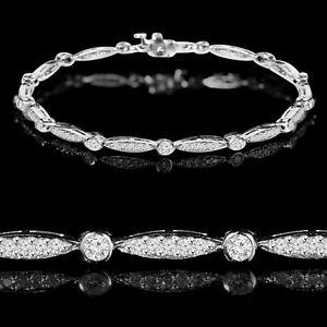 Bracelet en diamants 0.70CTW Dazzling Diamonds Tennis Bracelet