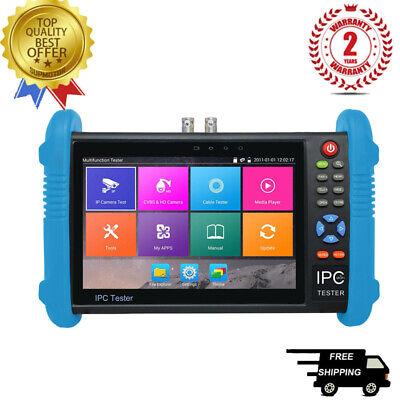 Ipc9800plus 7 Ip Cctv Tester Monitor Analog Camera H.265 4k Video Onvif Wifi