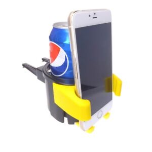 Universal Cellphone & Cup Air Vent Holder