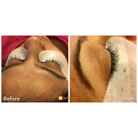 EYELash Extension Classic Full Set $65.  April Deal!