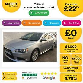 Mitsubishi Lancer 2.0DI-D Sportback 2010MY GS3 FROM £22 PER WEEK!