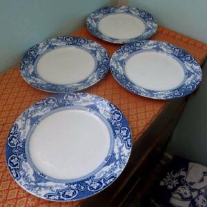4 Antique J. H. Weatherby & Sons 'Tokio' Dinner Plates