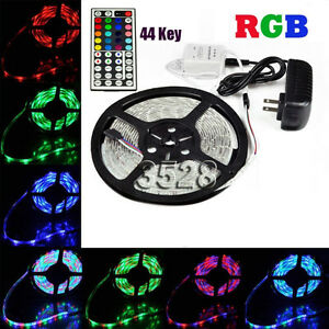 NonWaterproof RGB LED Strip Light Package 3528smd 300leds NEW