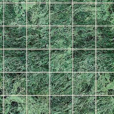 Dollhouse Miniature Green Marble Tile Flooring
