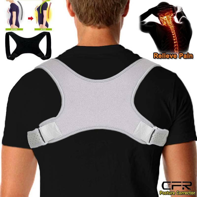 Posture Corrector Men Women Back Belt Brace Clavicle Support