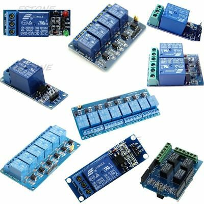 5v 12468 Channel Relay Board Module Optocoupler Led For Pic Avr Arm Arduino