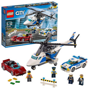 LEGO City Police High-speed Chase 60138