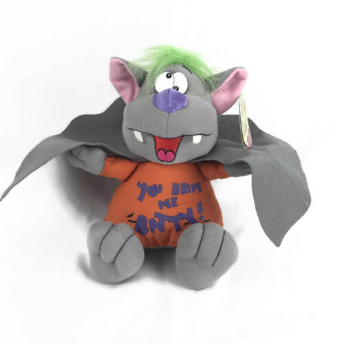 Gibson Halloween Vampire Bat Plush Decor Under Scares Stuffed Animal