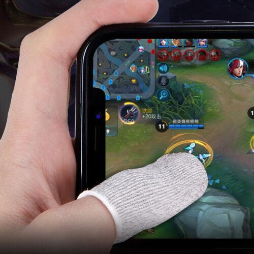 2pcs pubg mobile game finger sleeve controller