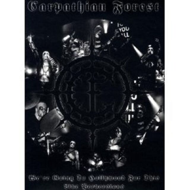 CARPATHIAN FOREST - WE'RE GOING TO... CD + DVD NEU