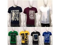 Calvin Klein Men's Round Neck T-Shirt for Wholesale Only