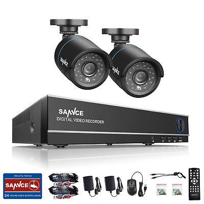 4CH 720P Video Überwachungsset kamera HDMI DVR HD CCTV Hausüberwachung Außen KIT