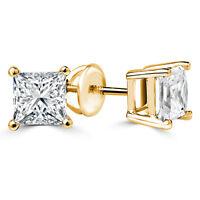 Fascinating Diamond Stud Earrings 1.00CTW Boucles d'Oreilles