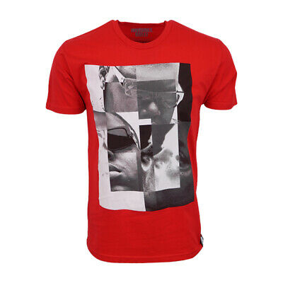 INVISIBLE BULLY MENS NOTORIOUS BIG RED T SHIRT