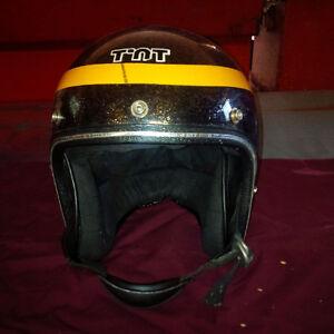 Vintage TNT Skidoo Helmet 1970's Era