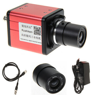 14mp Tv Usb Industry Digital C-mount Microscope Camera Tf Video Recoder Dvrlens