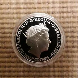 2019 Half Crown WW2 (mint condition) coin