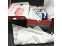 Nike AIR MAX 1 ANNIVERSARY - First year white and blue