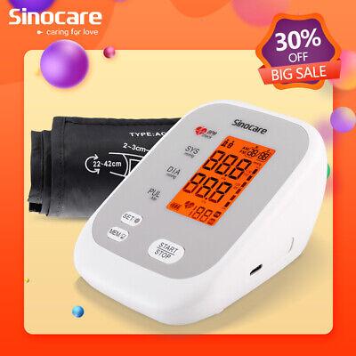 Sinocare Monitor de presión arterial digital automático medidor de ritmo cardíac