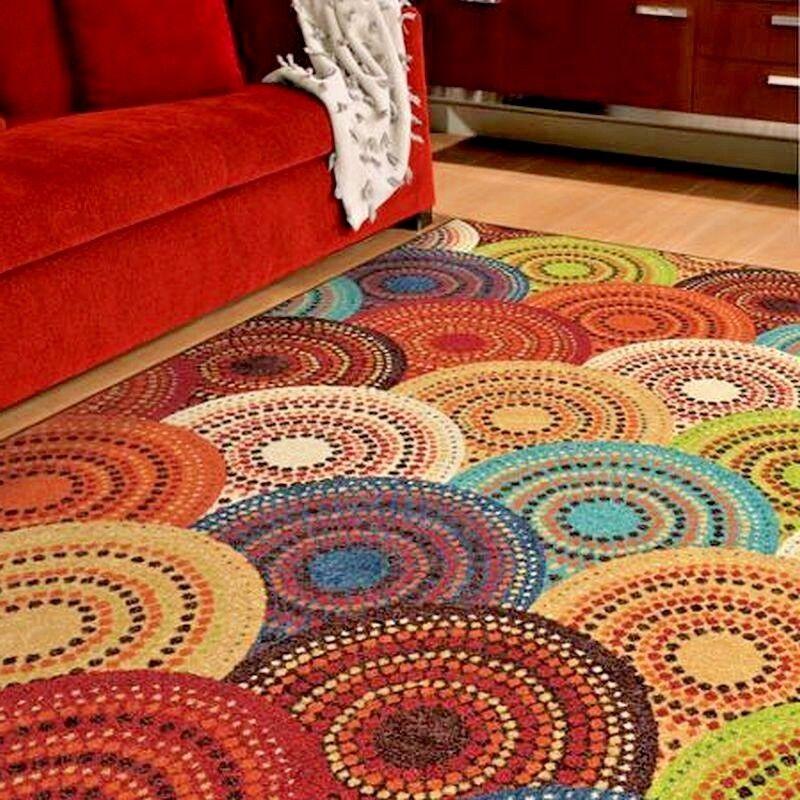 Rugs Area Rugs Carpets 8x10 Rug Floor Modern Cute Colorful