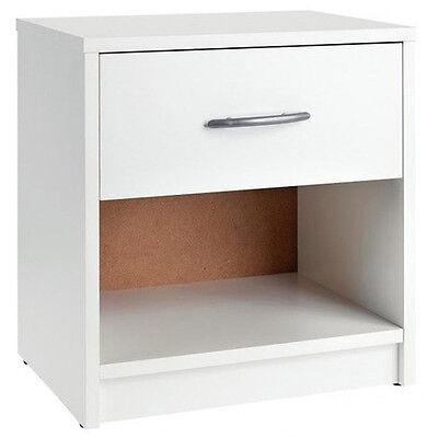 PEPE-comodino con un cassetto e un scompartimento aperto, ca. 39x41x28cm