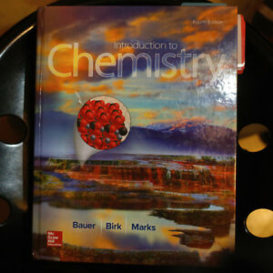 Chemistry 4th edition by Bauer, Birk & Marks