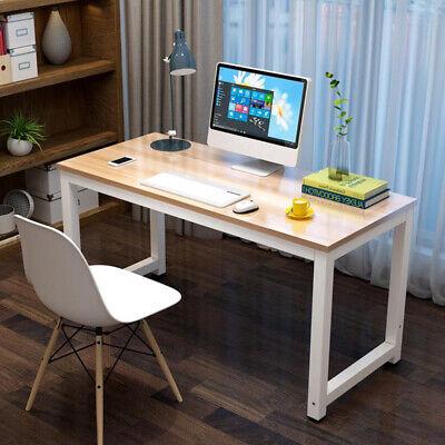 Wood Computer Desk Pc Laptop Table Workstation Kids Study Homeoffice Furniture