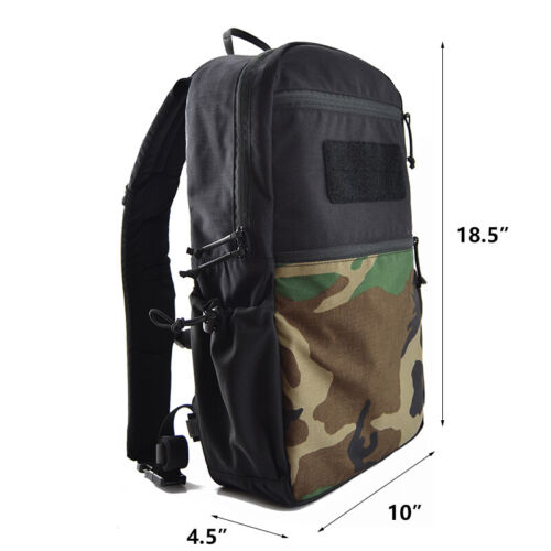London Bridge LB 8005 Day Pack 14L Molle Army Waterproof Bug Out Bag Rucksack