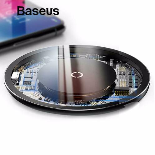 -50% Baseus 10W Qi wireless charger draadloos oplader laden