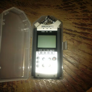 H4n Zoom recorder ( SD car included)