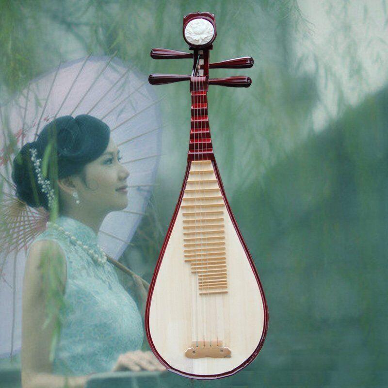 Chinese Soprano Pipa Lute Guitar Handmade MLiuqin - usical Instrument #4170