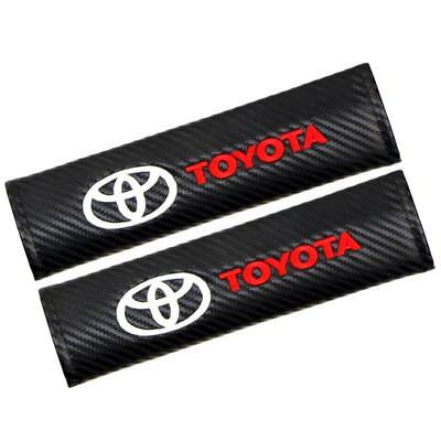 2PCS UNIVERSAL CAR Seat Belt Cover Pads Shoulder Cushion For all Model TOYOTA