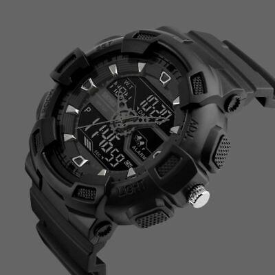 Man Plastic Sports Style Watch (SKMEI Men's Military G Style Digital&Analog LED Shock Sport Quartz Wrist Watch )
