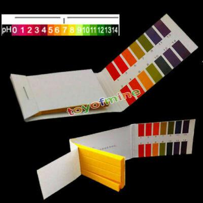 10 Pack Ph Indicator Strips 1-14 Laboratory Paper Litmus Tester Urine Saliva Us