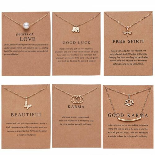 Jewellery - Gold Simple Pearl Bar Dragonfly Butterfly Animal Pendant Necklace Women Jewelry