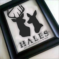 ** CUSTOM FAMILY NAME FRAMES - make a Wonderful Wedding Gift ***