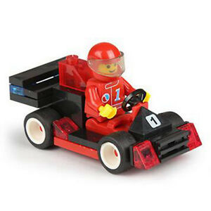 LEGO COMPATIBLE: RED/BLACK RACE CAR - NEW!!! Regina Regina Area image 1