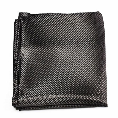 Carbon Fiber Fabric 2x2 Twill 3K Linear Yarn Smooth Carbon Fiber Cloth