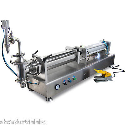 Liquid Filling Machine Manual Bottling Adjustable 500-5000ml Bottle Filler