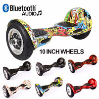 10 Inch Wheel Bluetooth Music Hoverboard Electric Segway Scooter