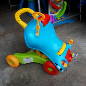 Playschool (by Hasbro) Ride-on or Walk behind toddler toy.