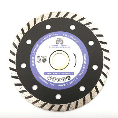 7 Turbo Diamond Saw Blade Cutting Discs Concrete Stone For Angle Grinder New