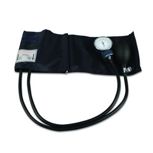 MANUAL BLOOD PRESSURE MONITOR WITH CASE AND STETHOSCOPE (VGC)
