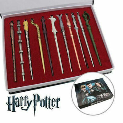 """11Pcs 5"""" Set Harry Potter Magic Stick Magical Wand  In Box Collection Kids Gifts"""