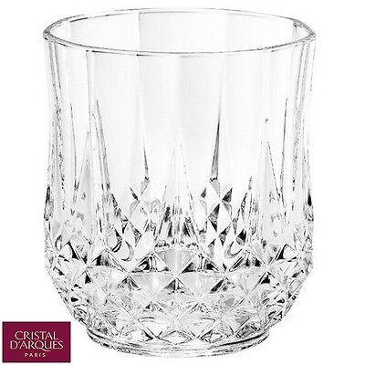 Cristal D'Arques Clear Glass Longchamp Shot Glasses Pack of 6 Home Bar New